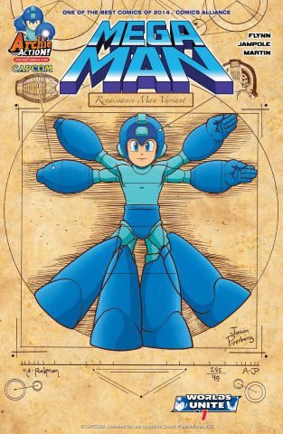 Mega Man 049 (July 2015) (variant)