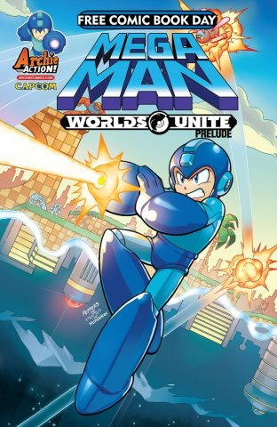 Mega Man Free Comic Book Day 2015