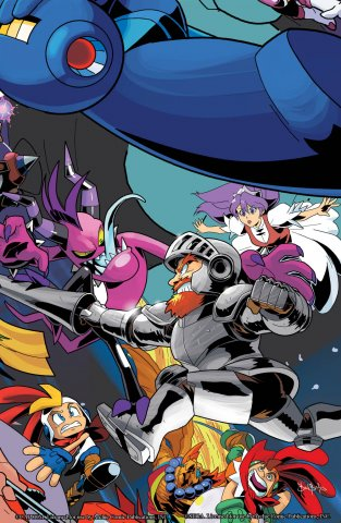 Mega Man 051 (September 2015) (variant 2)