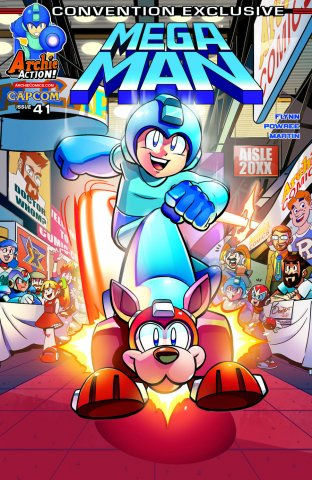 Mega Man 041 (November 2014) (convention exclusive)