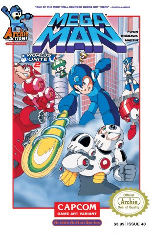 Mega Man 048 (June 2015) (variant)