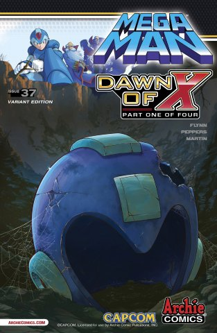 Mega Man 037 (July 2014) (variant 1)