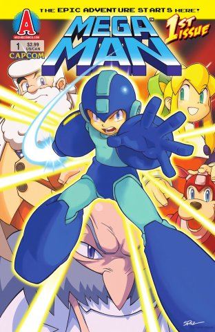 Mega Man 001 (July 2011)