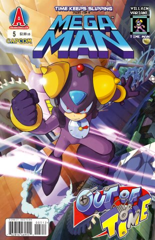 Mega Man 005 (November 2011) (villain variant)