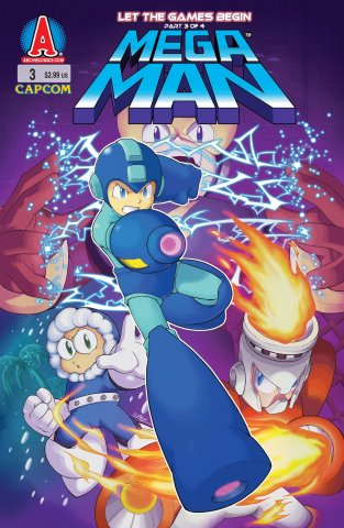 Mega Man 003 (September 2011)