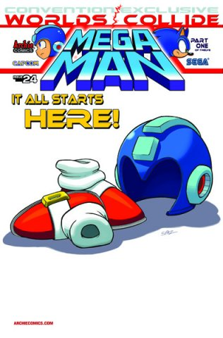 Mega Man 024 (June 2013) (variant 3)