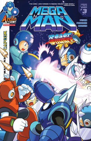 Mega Man 043 (January 2015)