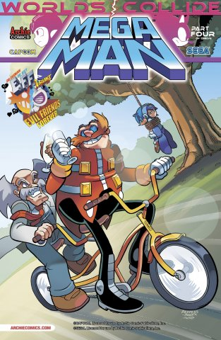 Mega Man 025 (July 2013) (variant)