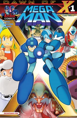 Mega Man 037 (July 2014)