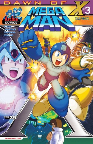 Mega Man 039 (September 2014)