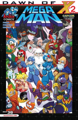 Mega Man 038 (August 2014) (variant)