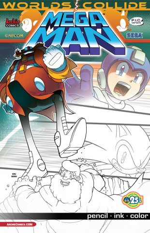 Mega Man 027 (September 2013) (variant)