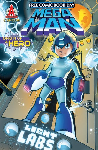 Mega Man 001 (July 2011) (Free Comic Book Day edition)