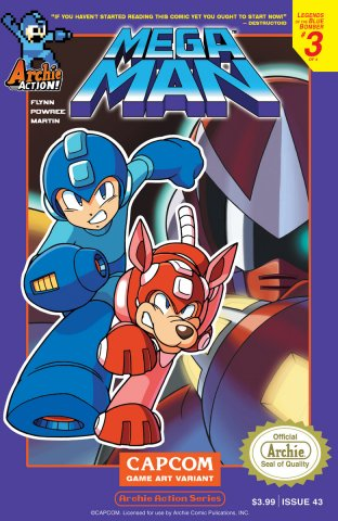 Mega Man 043 (January 2015) (variant)