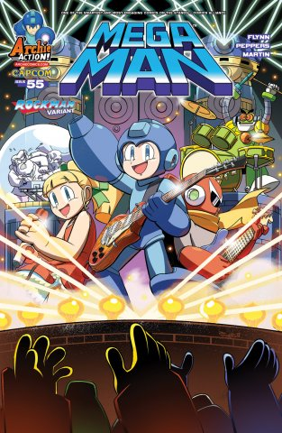 Mega Man 055 (January 2016) (variant)
