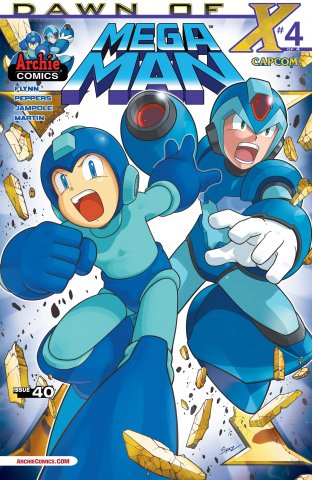 Mega Man 040 (October 2014)