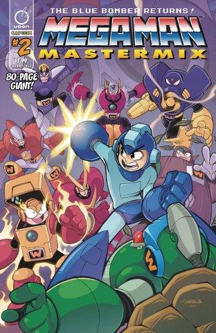 Mega Man Mastermix 002 (April 2018) (cover b)