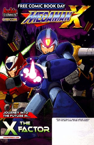 Mega Man Free Comic Book Day 2014