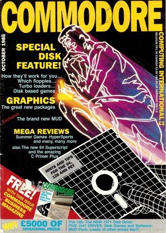 Commodore Computing International (October 1985)