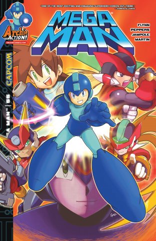 Mega Man 055 (January 2016)