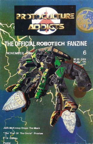 Protoculture Addicts Issue 06 (November 1989)