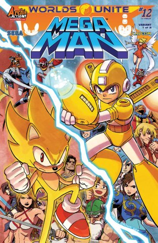 Mega Man 052 (October 2015) (variant 1)