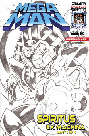 Mega Man 013 (July 2012) (variant)