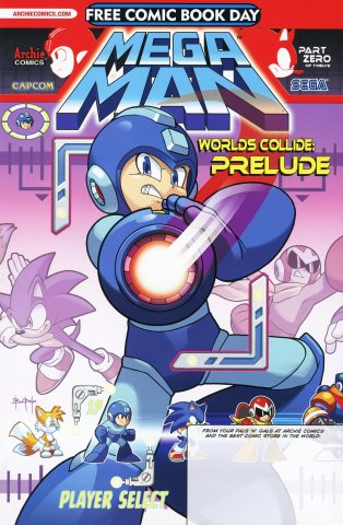 Mega Man Free Comic Book Day 2013
