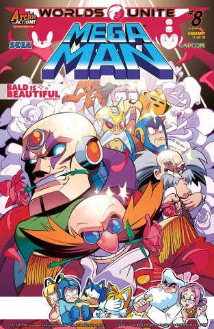 Mega Man 051 (September 2015) (variant 1)