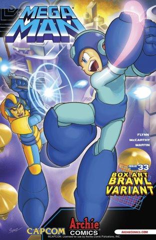 Mega Man 033 (March 2014) (variant)