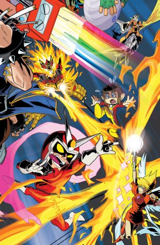 Mega Man 052 (October 2015) (variant 2)