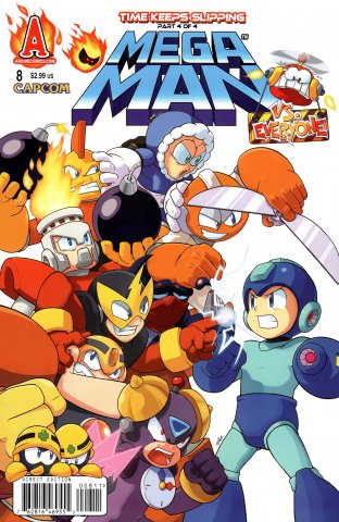 Mega Man 008 (February 2012)