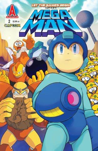 Mega Man 002 (August 2011)