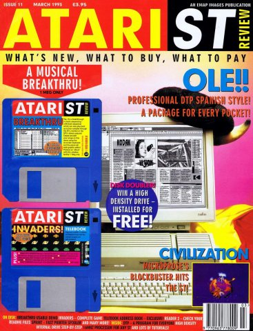 Atari ST Review Issue 11 (March 1993)