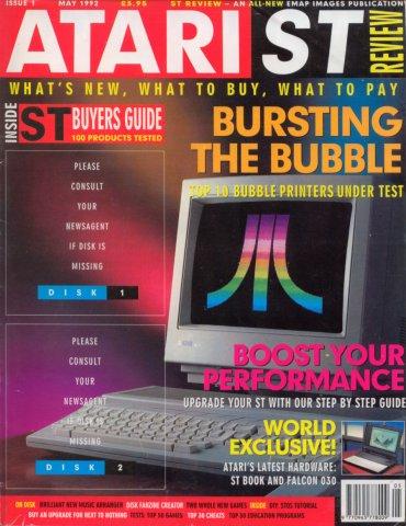 Atari ST Review Issue 01 (May 1992)
