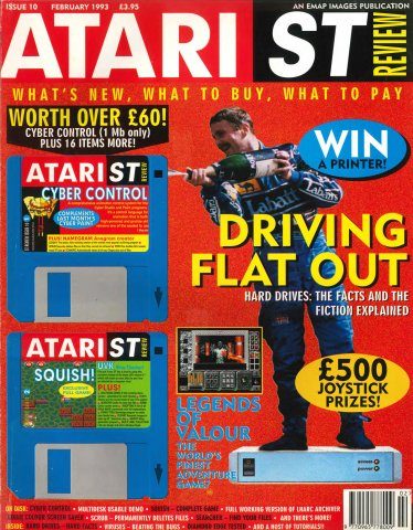 Atari ST Review Issue 10 (February 1993)