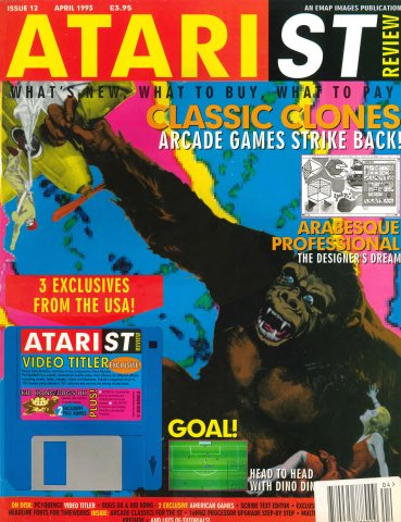 Atari ST Review Issue 12 (April 1993)
