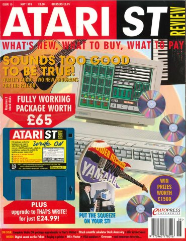 Atari ST Review Issue 13 (May 1993)