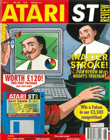 Atari ST Review Issue 14 (June 1993)