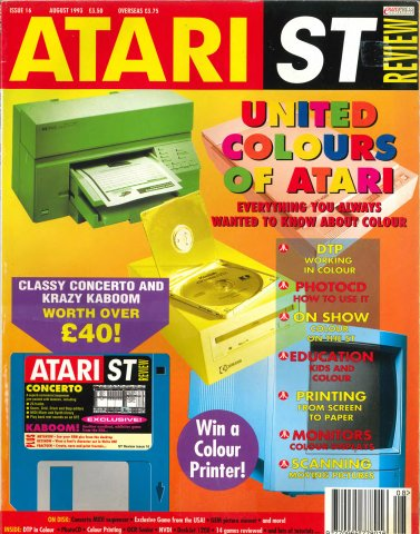 Atari ST Review Issue 16 (August 1993)