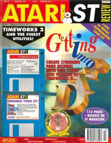 Atari ST Review Issue 21 (Xmas 1993)