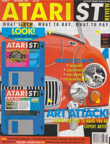 Atari ST Review Issue 06 (October 1992)