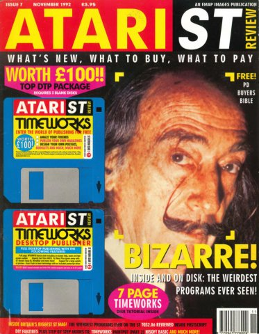 Atari ST Review Issue 07 (November 1992)