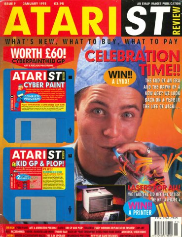 Atari ST Review Issue 09 (January 1993)
