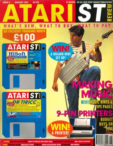 Atari ST Review Issue 04 (August 1992)