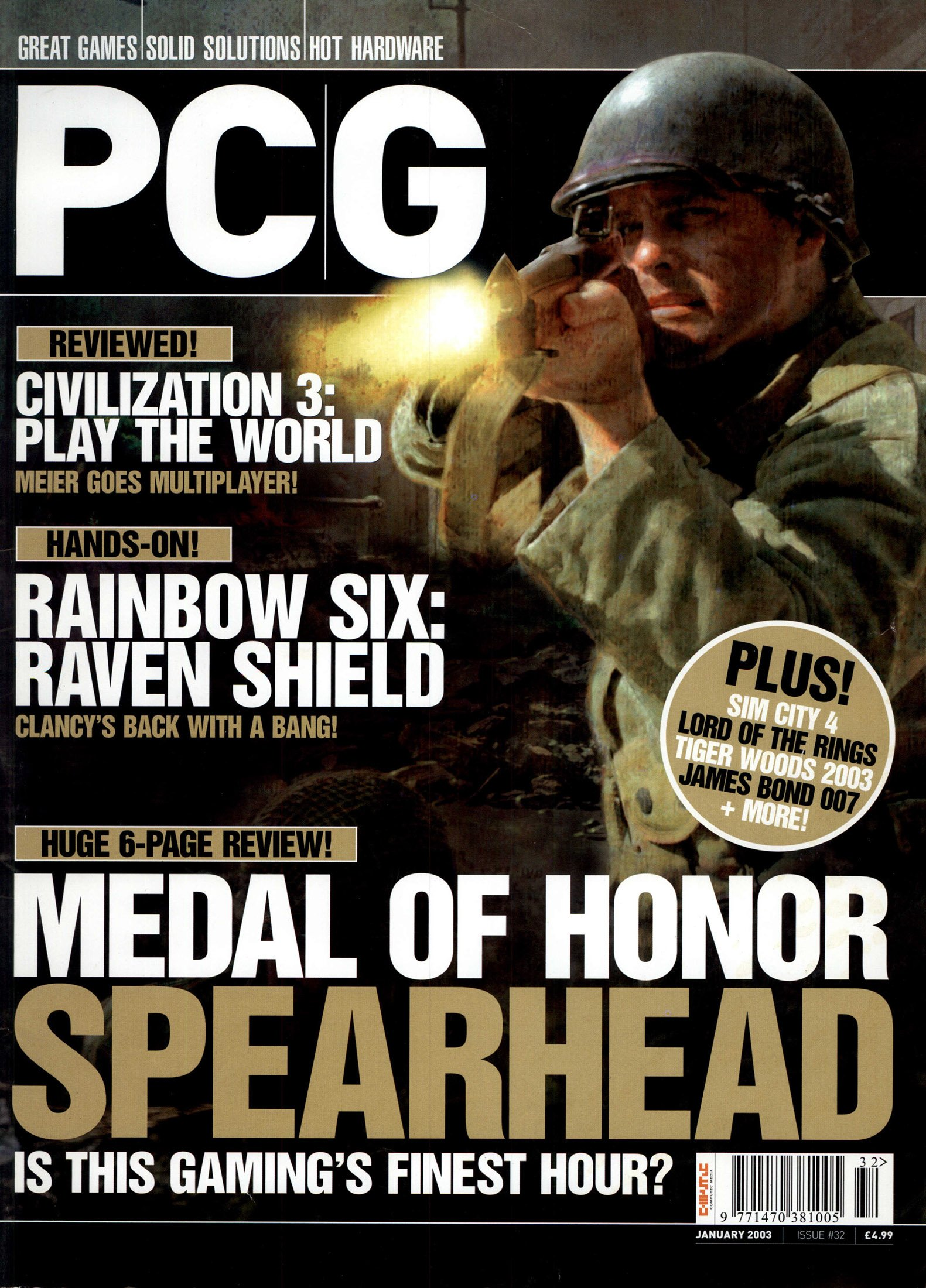PC Gameplay Issue 32 (January 2003)