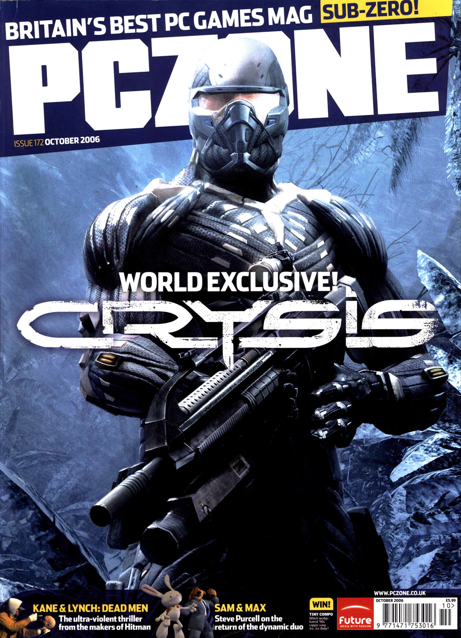 PC Zone Issue 172 (October 2006)