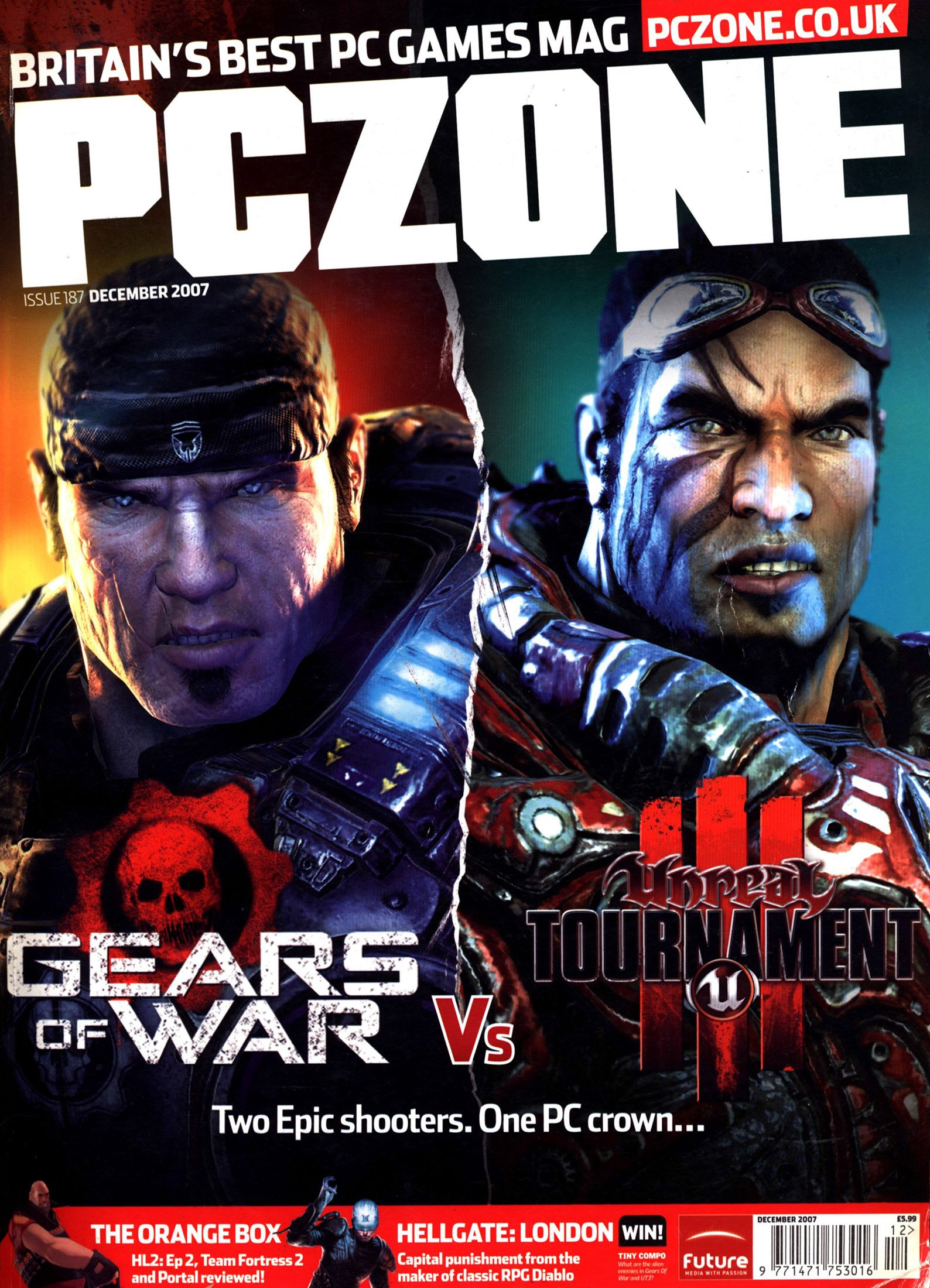 PC Zone Issue 187 (December 2007)