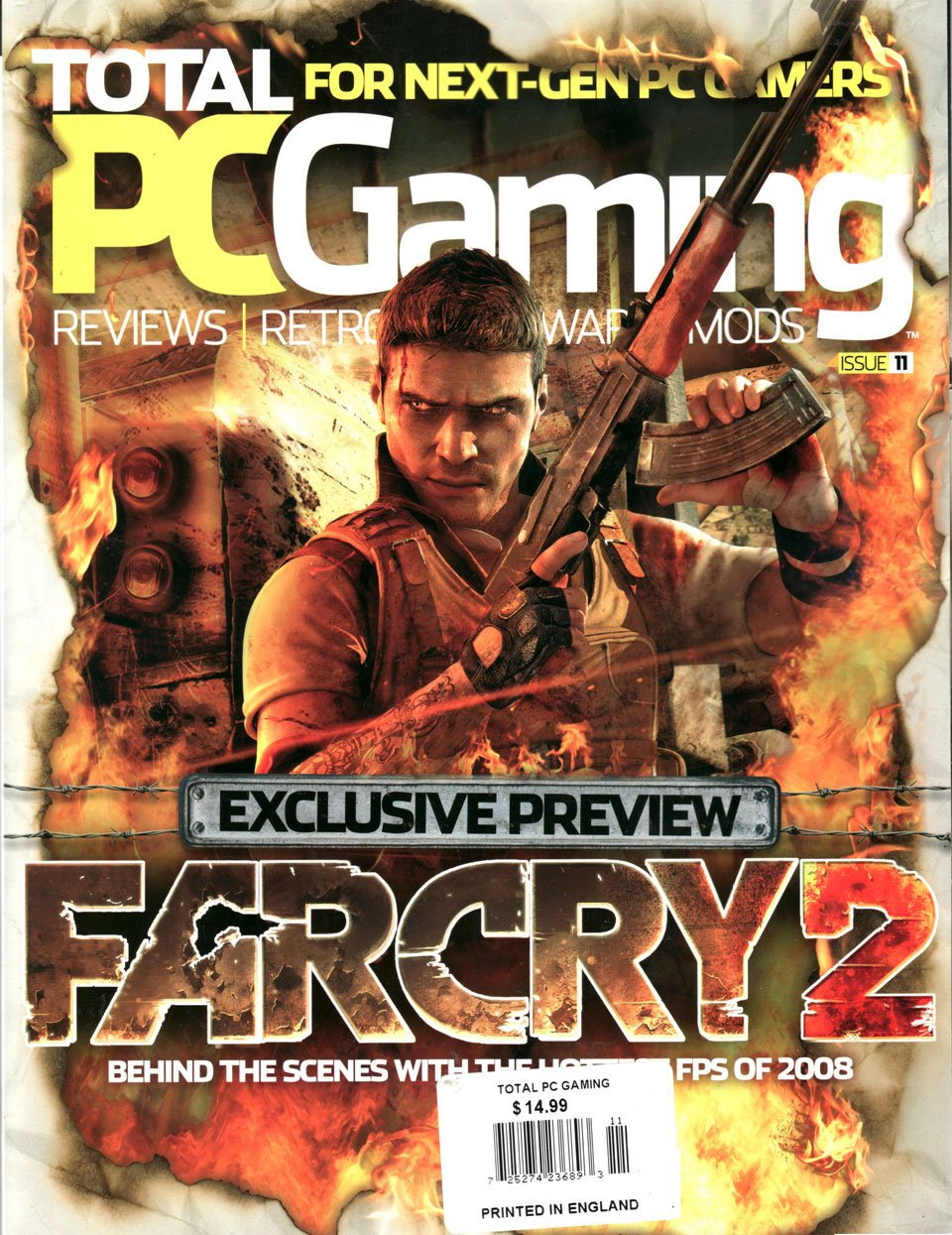 Total PC Gaming Issue 11 (September 2008)