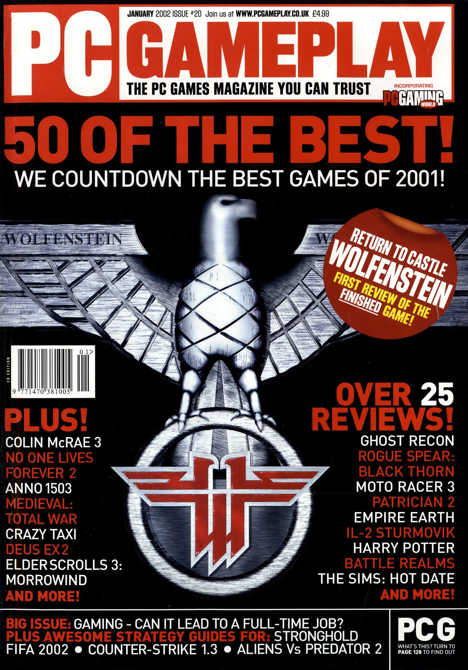 PC Gameplay Issue 20 (January 2002)